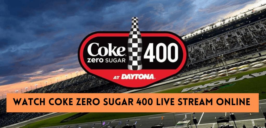 2021 Coke Zero Sugar 400 Live Stream